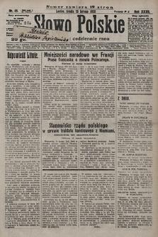 Słowo Polskie. 1928, nr45