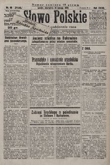 Słowo Polskie. 1928, nr49