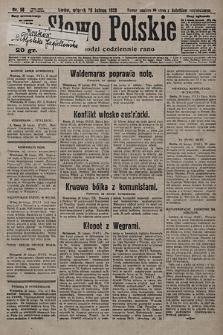 Słowo Polskie. 1928, nr58
