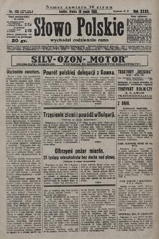 Słowo Polskie. 1928, nr133