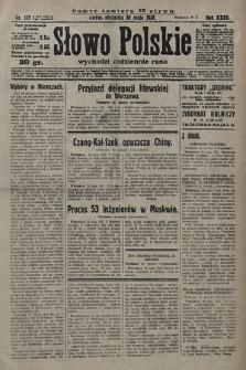 Słowo Polskie. 1928, nr137