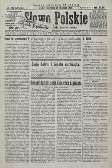 Słowo Polskie. 1928, nr171