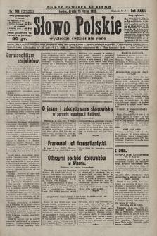 Słowo Polskie. 1928, nr203