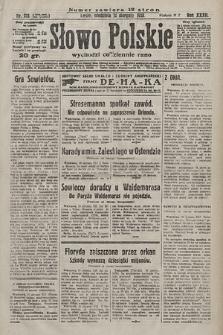 Słowo Polskie. 1928, nr221