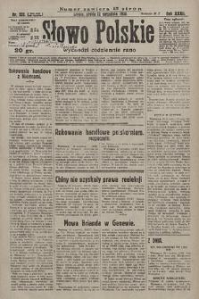 Słowo Polskie. 1928, nr252