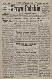 Słowo Polskie. 1928, nr254