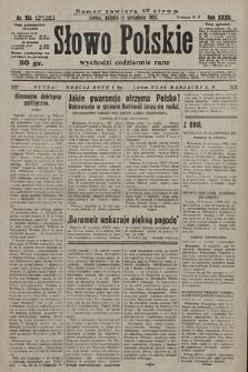 Słowo Polskie. 1928, nr255