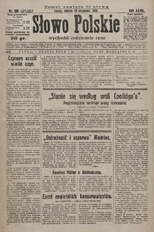 Słowo Polskie. 1928, nr269