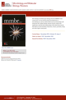 Microbiology and molecular biology reviews
