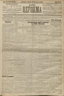 Nowa Reforma. 1922, nr10