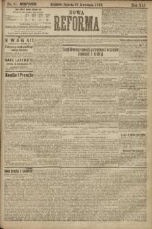 Nowa Reforma. 1922, nr97