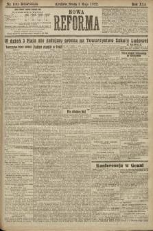 Nowa Reforma. 1922, nr100