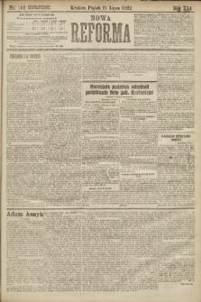 Nowa Reforma. 1922, nr162