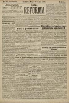 Nowa Reforma. 1922, nr203
