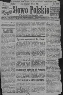 Słowo Polskie. 1927, nr1