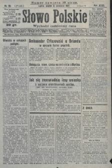 Słowo Polskie. 1927, nr20