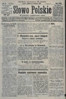 Słowo Polskie. 1927, nr21