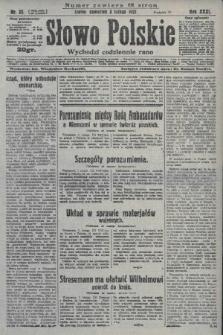 Słowo Polskie. 1927, nr33