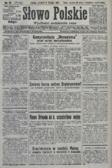 Słowo Polskie. 1927, nr38