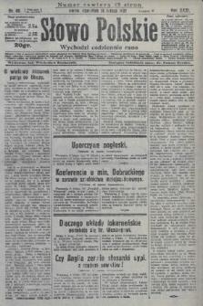 Słowo Polskie. 1927, nr40