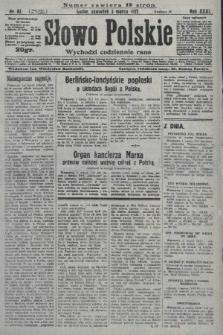 Słowo Polskie. 1927, nr61