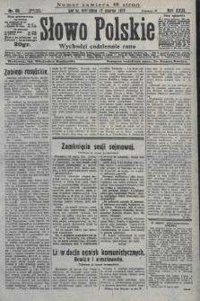 Słowo Polskie. 1927, nr85