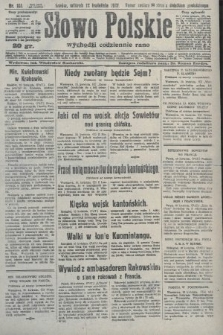 Słowo Polskie. 1927, nr101