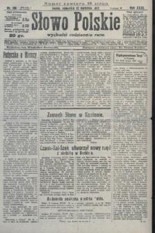 Słowo Polskie. 1927, nr108