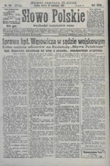 Słowo Polskie. 1927, nr114