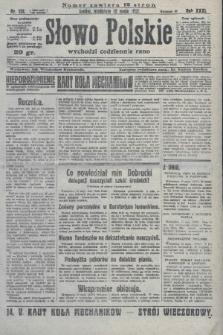 Słowo Polskie. 1927, nr132