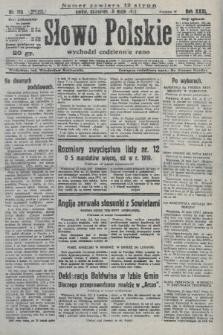 Słowo Polskie. 1927, nr143