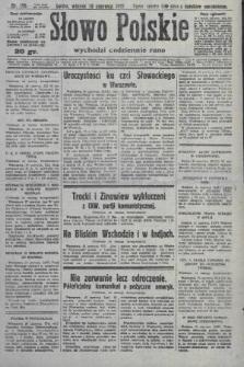 Słowo Polskie. 1927, nr176