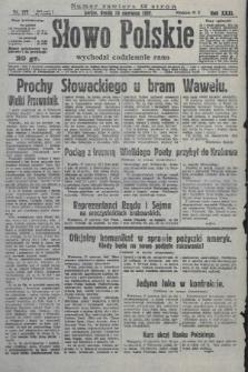 Słowo Polskie. 1927, nr177
