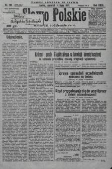 Słowo Polskie. 1927, nr192