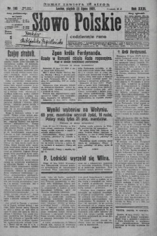 Słowo Polskie. 1927, nr200