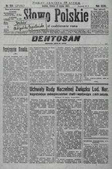 Słowo Polskie. 1927, nr205