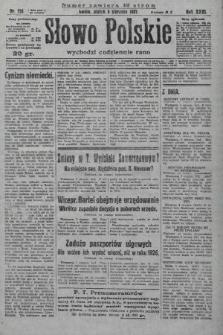 Słowo Polskie. 1927, nr214