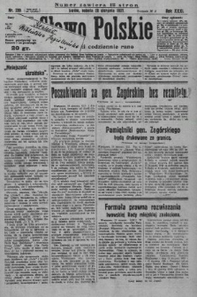 Słowo Polskie. 1927, nr229