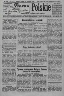 Słowo Polskie. 1927, nr232