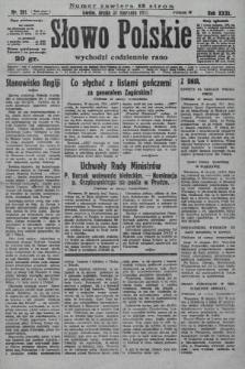 Słowo Polskie. 1927, nr241