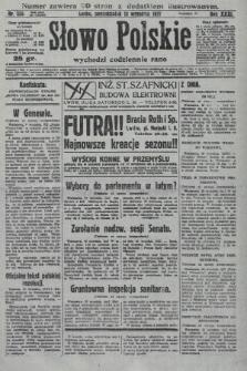 Słowo Polskie. 1927, nr255