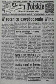 Słowo Polskie. 1927, nr287