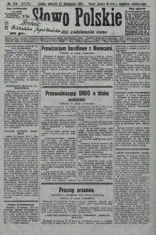 Słowo Polskie. 1927, nr329