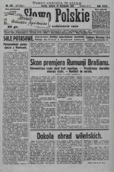 Słowo Polskie. 1927, nr333