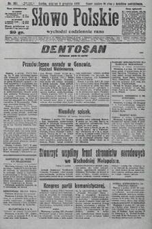 Słowo Polskie. 1927, nr343