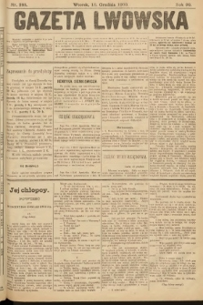 Gazeta Lwowska. 1900, nr288