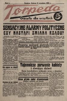 Torpeda : gazeta dla wszystkich. 1936.09.19