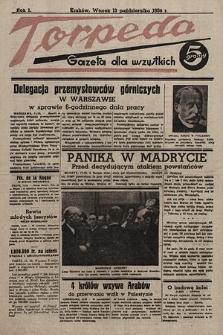 Torpeda : gazeta dla wszystkich. 1936.10.13