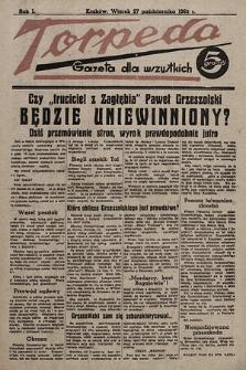 Torpeda : gazeta dla wszystkich. 1936.10.27