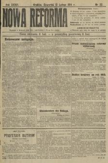 Nowa Reforma. 1914, nr32